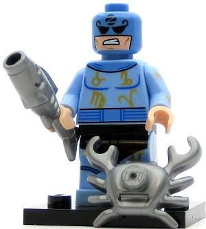 LEGO Collectible Minifigures The Batman Movie Zodiac Master