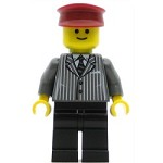 LEGO Town Minifigure Pinstriped Suit Jacket