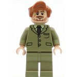 LEGO Harry Potter Minifigure Professor Lupin Dark Tan Suit