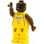 LEGO Sports Minifigure NBA Kobe Bryant Los Angeles Lakers #8 Home Uniform