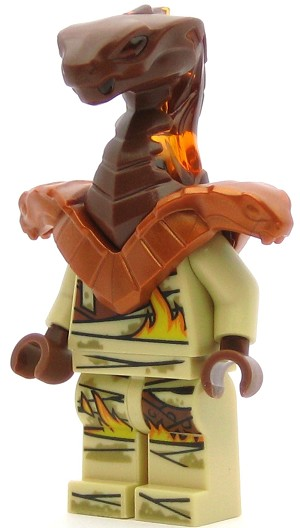 LEGO Ninjago Minifigure Pyro Whipper with Armor Shoulder Pads