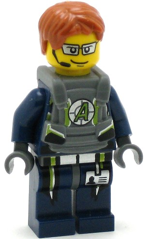 LEGO Agents Minifigure Agent Fuse Body Armor