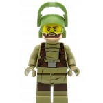 LEGO Star Wars Minifigure Resistance Trooper - Dark Tan Hoodie (75189)