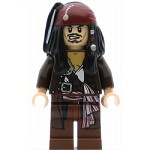 LEGO Pirates of the Caribbean Minifigure Captain Jack Sparrow with Jacket