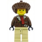 LEGO Adventurers Minifigure Pippin Reed Parka