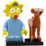 LEGO Collectible Minifigures The Simpsons Maggie Simpson and Santa's Little Helper