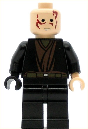 LEGO Star Wars Minifigure Anakin Skywalker with Black Right Hand