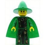 LEGO Harry Potter Minifigure Professor McGonagall Green Robe and Cape