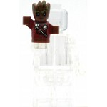 LEGO Super Heroes Minifigure Groot Red Outfit with Zipper