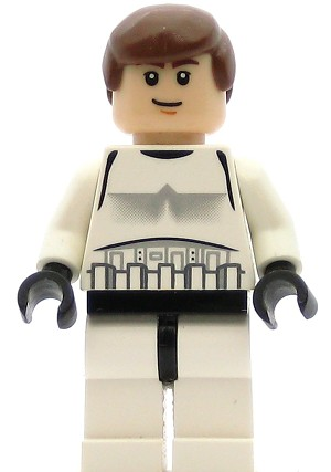 LEGO Star Wars Minifigure Han Solo Stormtrooper Outfit