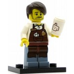 LEGO Collectible Minifigures The Movie Larry the Barista