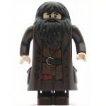 LEGO Harry Potter Minifigure Hagrid Dark Brown Topcoat with Buttons