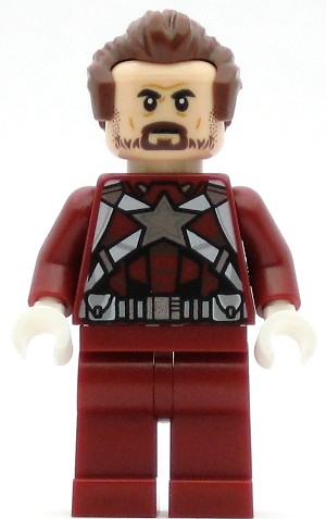 LEGO Super Heroes Minifigure Red Guardian