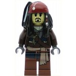 LEGO Pirates of the Caribbean Minifigure Captain Jack Sparrow Voodoo
