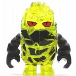 LEGO Power Miner Minifigure Rock Monster Combustix Trans-Yellow