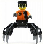 LEGO Agents Minifigure Spy Clops Black Legs