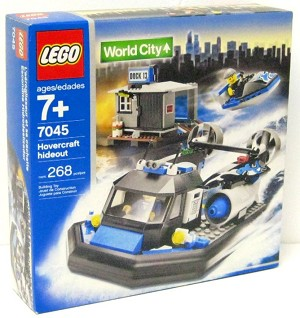LEGO 7045 World City Hovercraft Hideout
