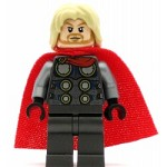 LEGO Super Heroes Minifigure Thor with Spongy Cape