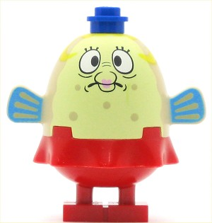 LEGO Minifigure Mrs. Puff