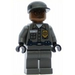 LEGO Batman Minifigure Arkham Asylum Guard