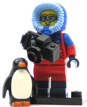 LEGO Collectible Minifigures Series 16 Wildlife Photographer