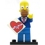LEGO Collectible Minifigures TheSimpsons Homer Simpson with Tie and Jacket - Minifig Only