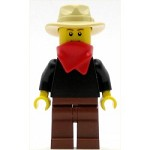 LEGO Minifigure Gold Prospector Male (9349)