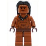 LEGO Minifigure Ugha Warrior with Hair
