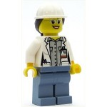 LEGO Town Minifigure Town Volcano Female Scientist