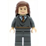 LEGO Harry Potter Minifigure Hermione Gryffindor Stripe Torso Trimmed Hair