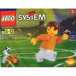 LEGO 3304 Town Dutch Footballer