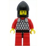 LEGO Castle Minifigure Scale Mail Red with Red Arms Black Chin-Guard