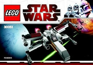 LEGO 30051 Star Wars X-wing Fighter