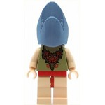 LEGO Harry Potter Minifigure Viktor Krum Shark Head