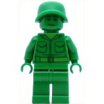 LEGO Toy Story Minifigure Green Army Man Plain