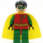 LEGO Batman Minifigure Robin Short Hair