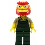LEGO Collectible Minifigures TheSimpsons Groundskeeper Willie - Minifig Only