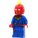 LEGO Super Heroes Minifigure Captain Marvel - Helmet