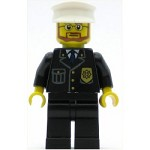 LEGO Minifigure Police City Suit with Blue Tie and Badge